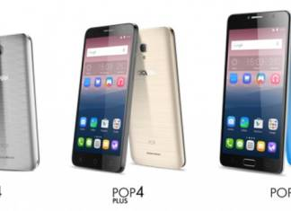 Alcatel Pop4, Pop4plus, pop4s