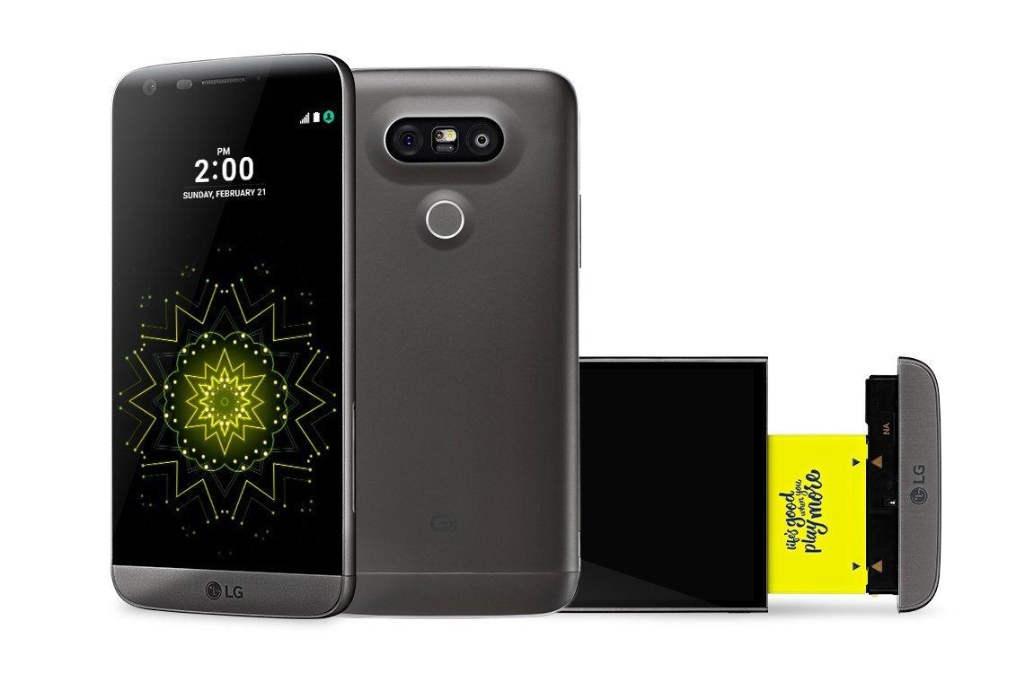 LG G5 pre orders in UK