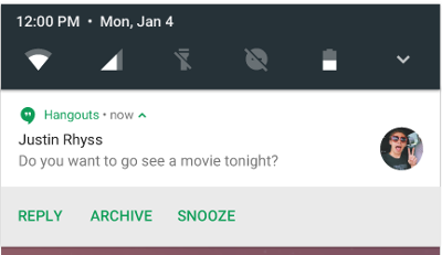 inline reply android n