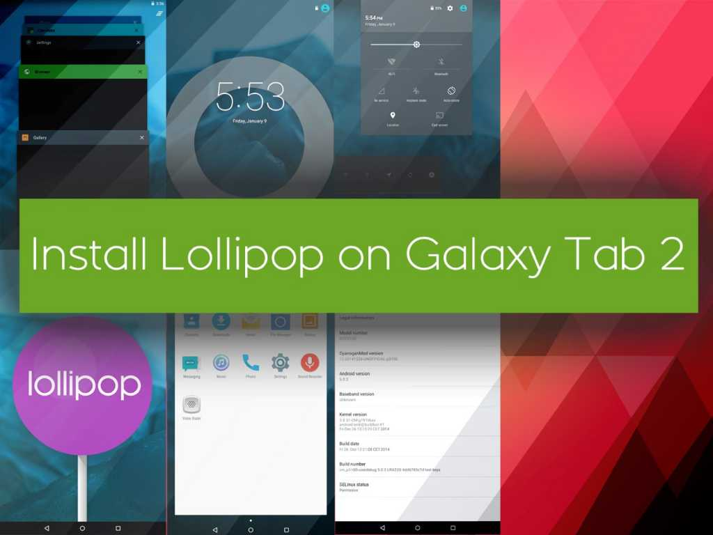 Manually Install Official Android 502 Lollipop Firmware
