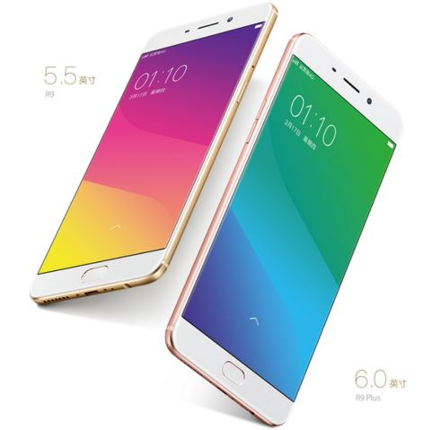 oppo R9 and Rp plus