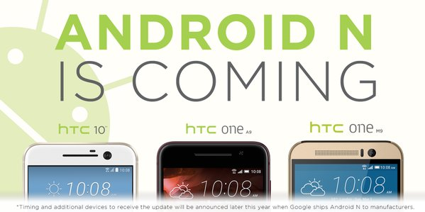 Android N for HTC 10