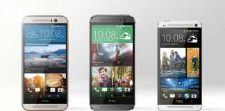 HTC One M8 and One M9