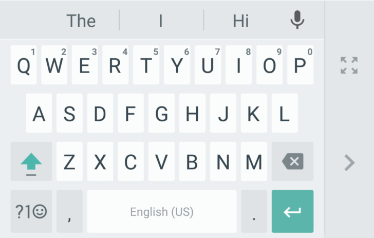 Google Keyboard v5.0