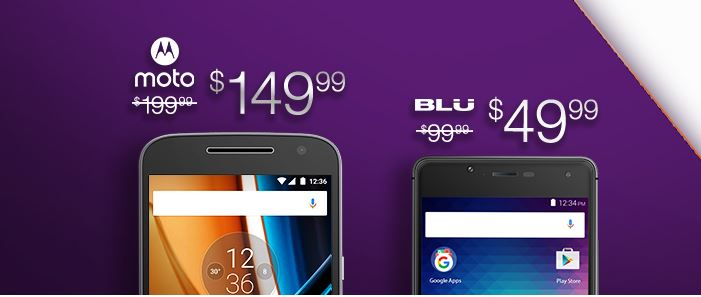 amazon deals on Moto G4 and Blu R1 HD