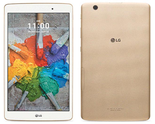 LG G pad X 8