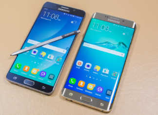 Samsung Galaxy Note 5 and S6 Edge+