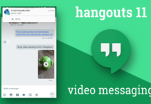 Google HangoutsVideo Messaging