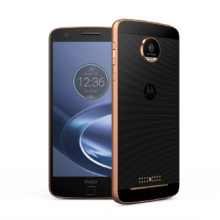Moto Z Force DROID Front and Side Back