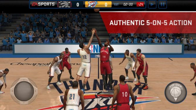 nba live game android