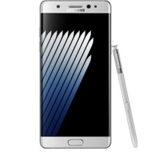 samsung galaxy note 7 silver front