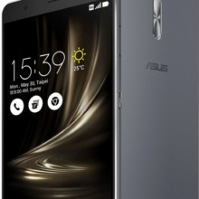 Asus ZenFone 3 Ultra grey front and back