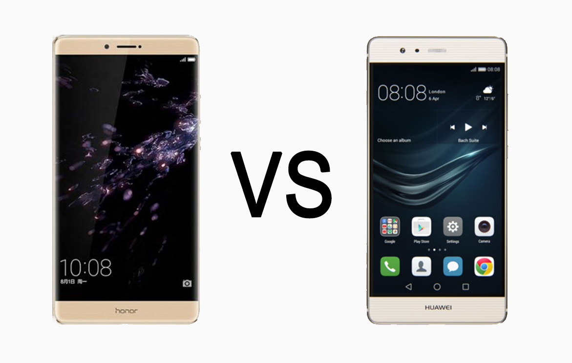 Compare Comparison: Huawei Honor Note 8 vs Huawei P9 ...