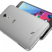 ZTE Small Fresh 4 back and front grey