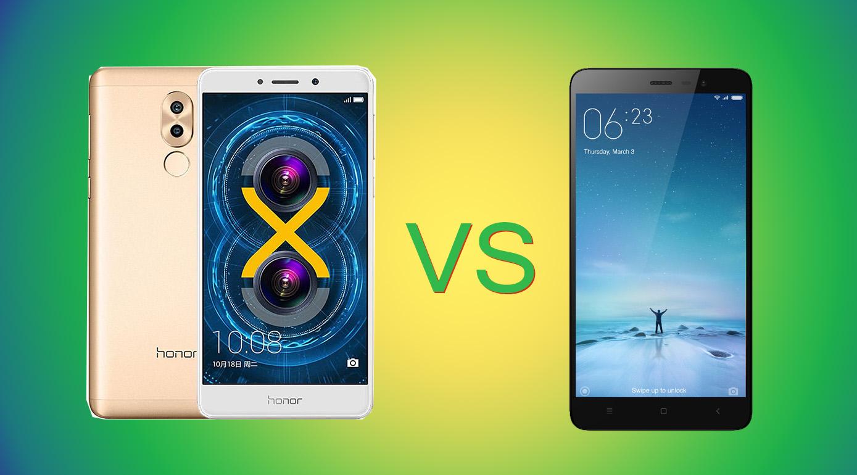 Honor 6X vs Xiaomi Redmi Note 3