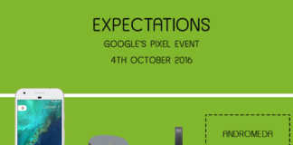 expectations google's pixel event 4th october event