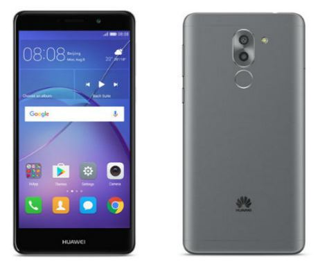 Huawei Mate 9 Lite front and back