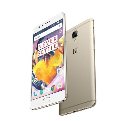 OnePlus 3T silver