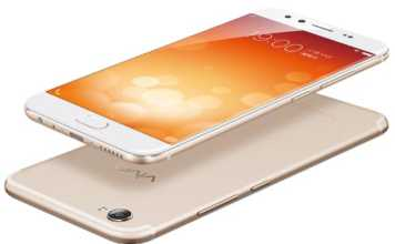 Vivo X9 front and back