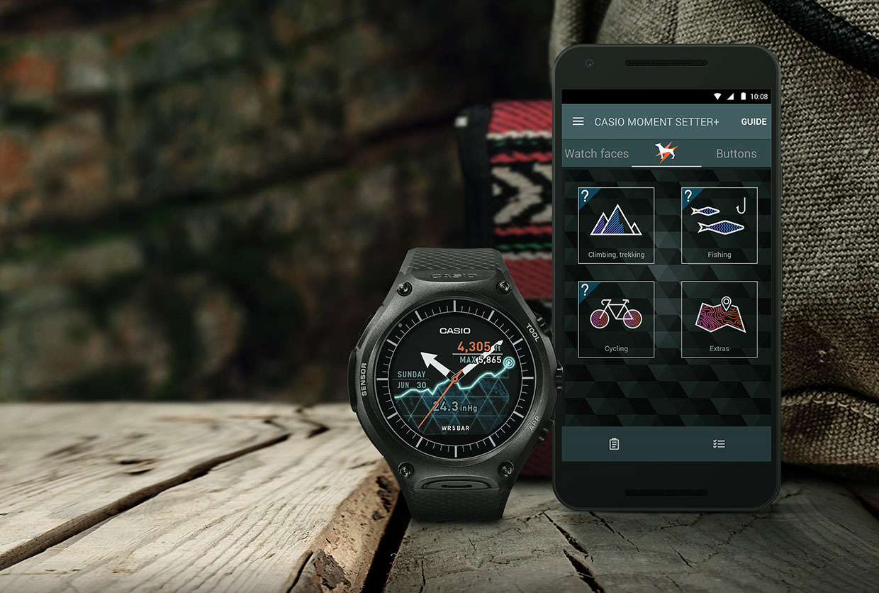announces rugged by rug wear wsd it with android powered news again casio the at s is smartwatch