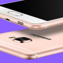 Samsung Galaxy C5 Pro back and front camera