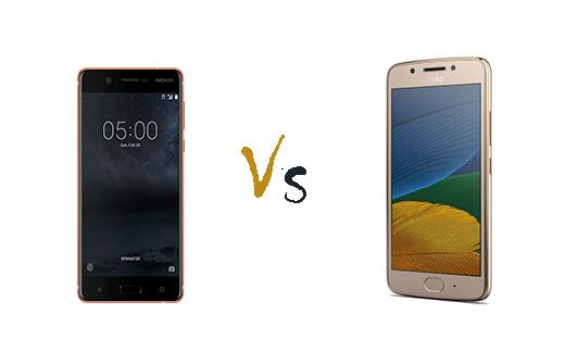 Nokia 5 vs Motorola Moto G5