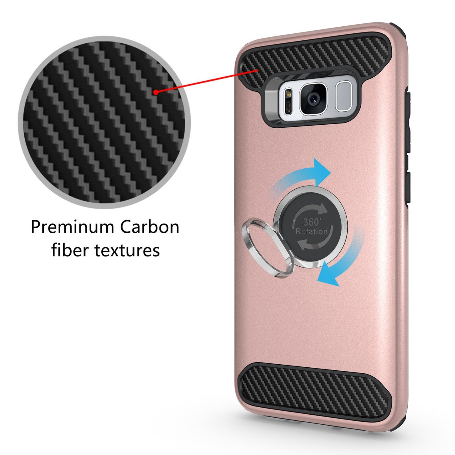 Peyou Protective Case for Galaxy S8