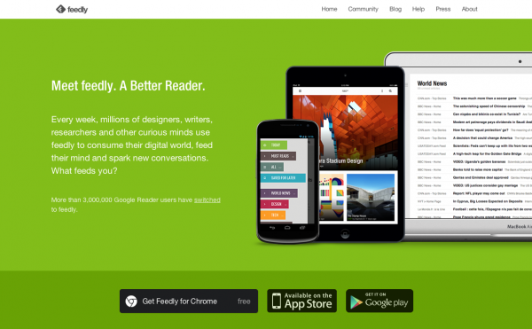 feedly best android news reader app