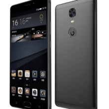 Gionee M6S Plus side front back black