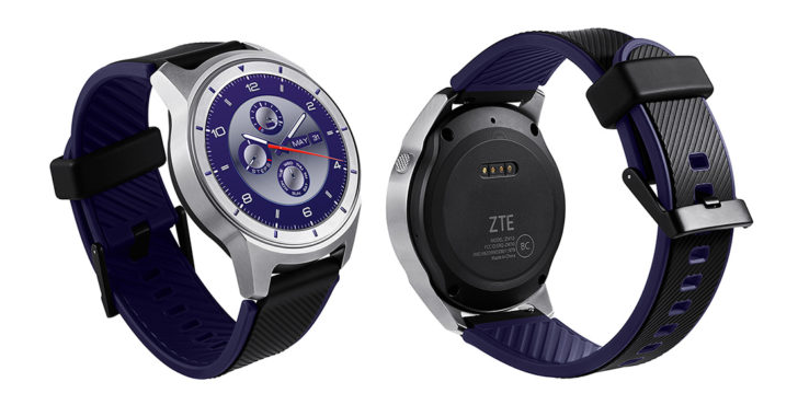zte quartz smartwatch back