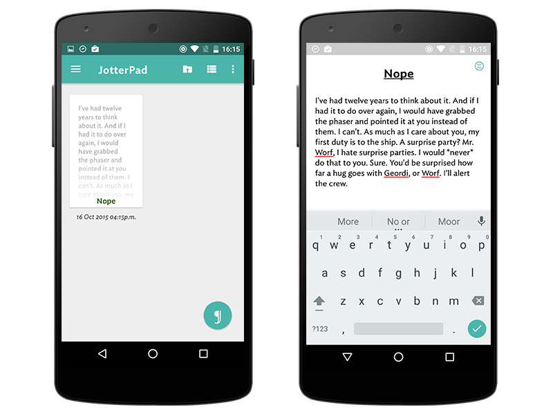 best android apps for creative writing