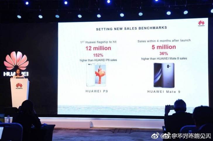 mate 9 5 million sales