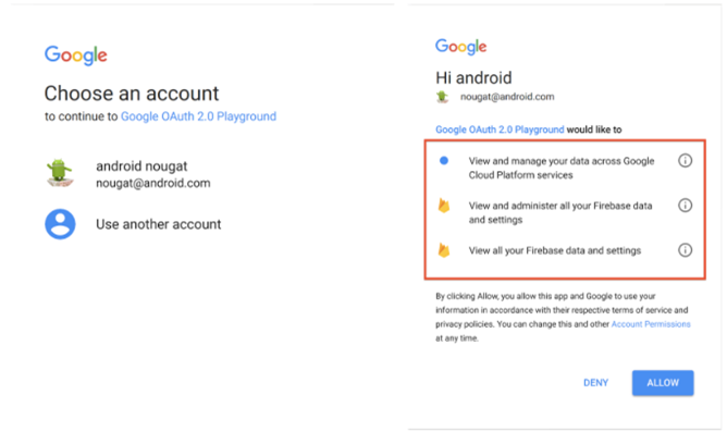 google new sign in page