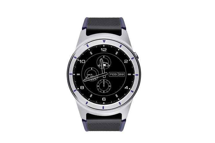 zte quartz smartwatch grey
