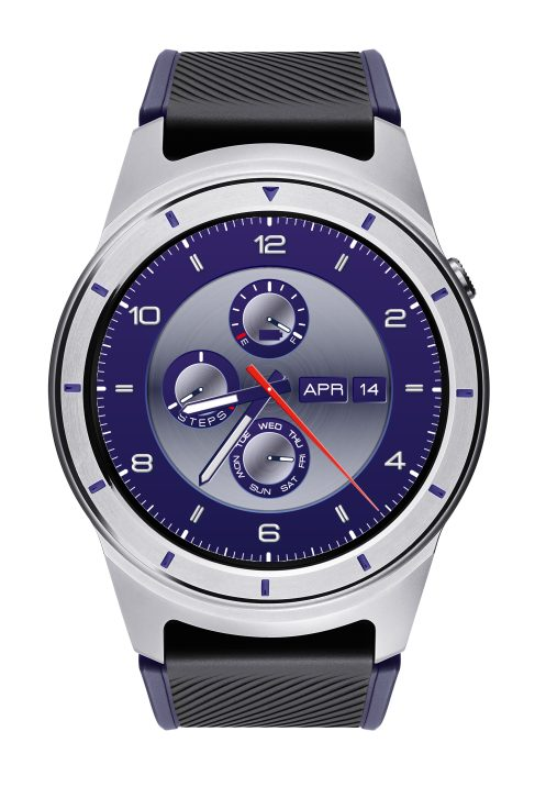 zte quartz smartwatch blue