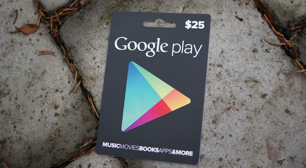 Google Play E-Gift Card option quietly disappeared in recent update