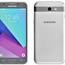 Samsung Galaxy J3 (2017) front and back