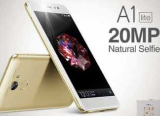 Gionee A1 Lite is official now with 20 MP Front camera and Android Nougat