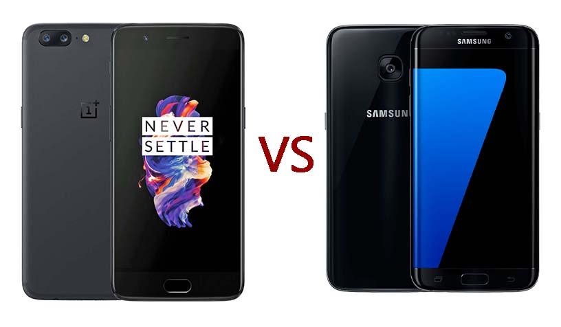 Oneplus 5 Vs Galaxy S7 Edge