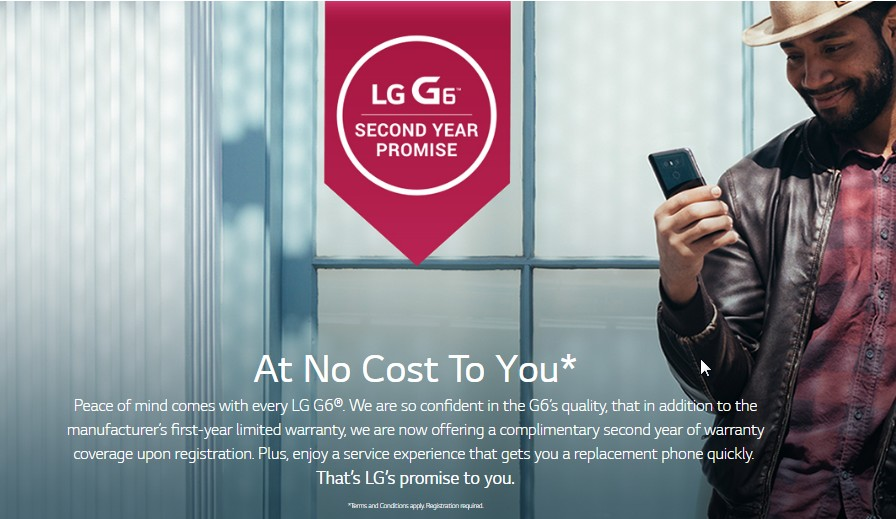 LG G6 now offers key freebie against Samsung Galaxy S8