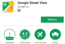 Google Street View 1 Billion