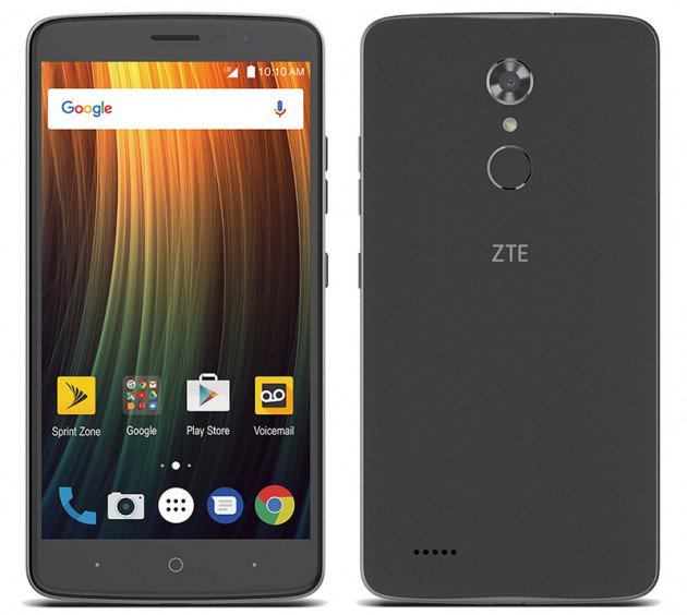 ZTE Max XL coming to Sprint with 6-inch display, 3990mAh battery