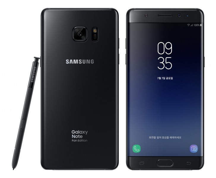 samsung note 7 fan edition
