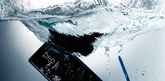Samsung Galaxy Note8 waterproof