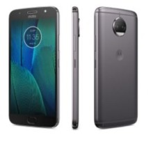 Moto G5S Plus front side and back