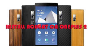 install nougat on oneplus 2