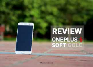 OnePlus 5 Soft Gold Review