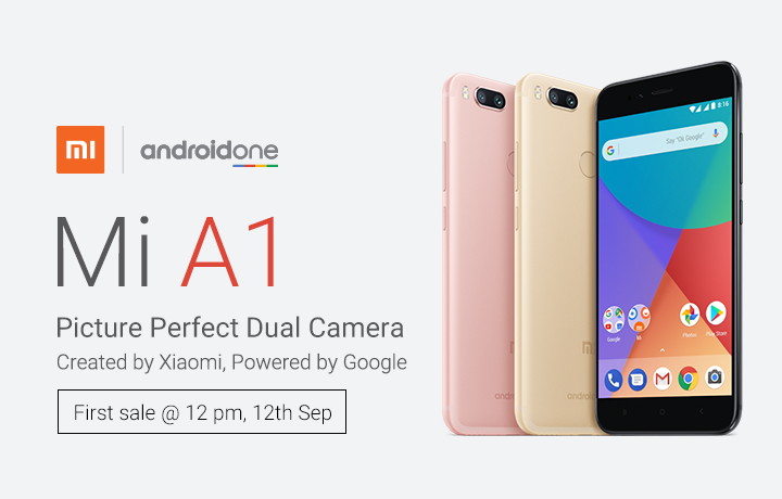 Android One Xiaomi Mi A1