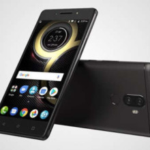 Lenovo K8 Plus front and back