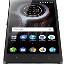 Lenovo K8 Plus Venom Black bottom
